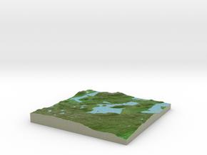 Terrafab generated model Wed Nov 06 2013 02:41:41  in Full Color Sandstone