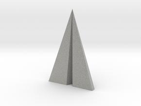 Paper plane pendant in Metallic Plastic