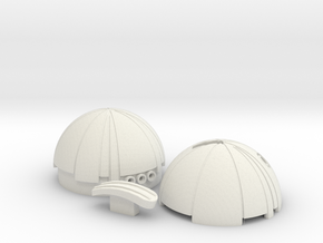 Thermal Detonator from Star Wars in White Natural Versatile Plastic