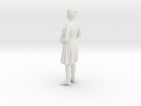 Sandra in White Natural Versatile Plastic