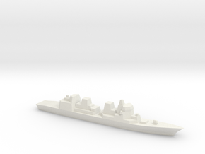 [JMSDF] Akizuki Class 1:3000  in White Strong & Flexible