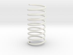 prt 4 spring in White Natural Versatile Plastic