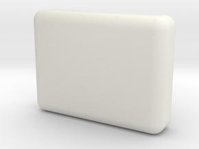 SOAP-V2 (Shelled) in White Natural Versatile Plastic