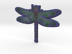 Dragonfly I in Full Color Sandstone