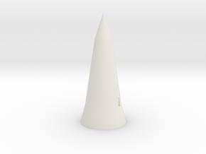 Winkel Bunker - Z scale in White Natural Versatile Plastic