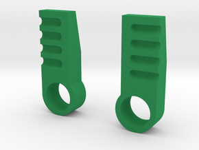 iGear Hench Brawn Stablising Heel Spurs - SFP in Green Processed Versatile Plastic