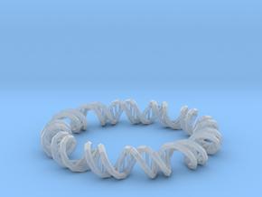 Dna Bracelet in Smooth Fine Detail Plastic