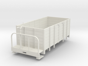 Oe high side wagon with brake platform in White Strong & Flexible