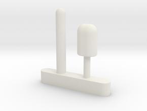 multiple top in White Natural Versatile Plastic