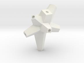 11 in White Natural Versatile Plastic