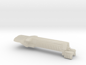 Fleet Scale Series 1: Terran Battleship in White Acrylic