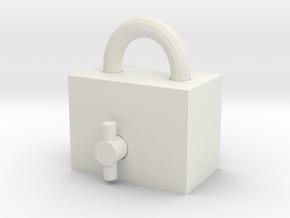 Locknok in White Natural Versatile Plastic