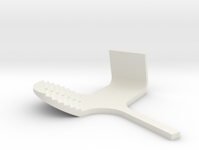miniNL Multimill(1:100)(110220) in White Natural Versatile Plastic