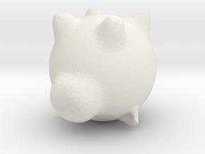 piggy bank in White Natural Versatile Plastic