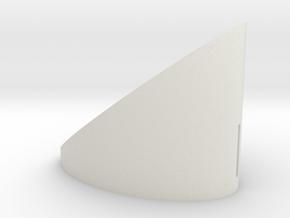bigger volume in White Natural Versatile Plastic
