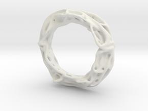 Superblob in White Natural Versatile Plastic