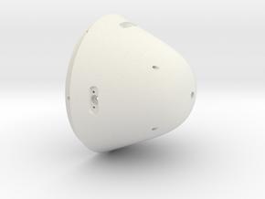 Tail_cone_v4 in White Natural Versatile Plastic