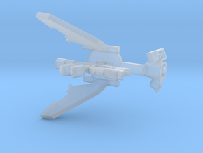Laser Drone Conversion in Smooth Fine Detail Plastic