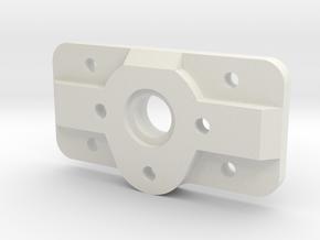 Pt. Grey Camera Mount in White Natural Versatile Plastic