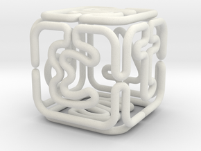 Extruded Pipe Die D6 in White Natural Versatile Plastic