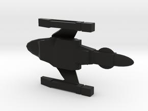 NTR Battleship Class 1/7000 (TMP) in Black Strong & Flexible