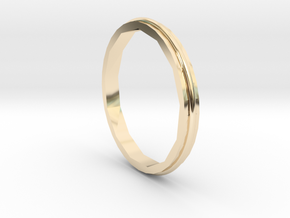 Square Two Ring - Sz. 5 in 14K Gold