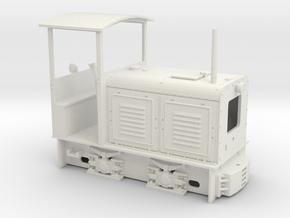 Feldbahn LKM Ns2  (Spur 0e/f) 1:45 in White Natural Versatile Plastic