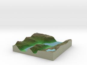 Terrafab generated model Sun Nov 24 2013 20:14:59  in Full Color Sandstone