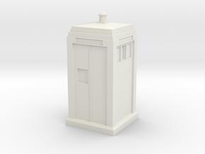 Metropolitan Police Box mk3 in White Natural Versatile Plastic