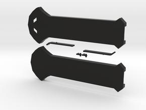 New Improved Hidden Blade Body in Black Natural Versatile Plastic