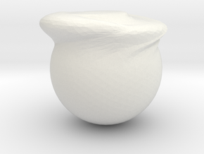 EGG in White Natural Versatile Plastic