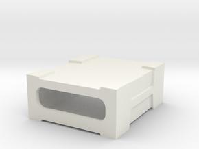 Niftymitter Gig Sleeve v0.2 in White Natural Versatile Plastic