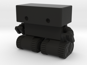 Robot 0025 Tank Tread Bot in Black Strong & Flexible