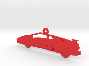 Lamborghini Diablo VT Ornament in Red Strong & Flexible Polished