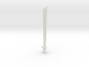 long sword in White Strong & Flexible
