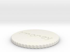 by kelecrea, engraved: tmoney in White Natural Versatile Plastic