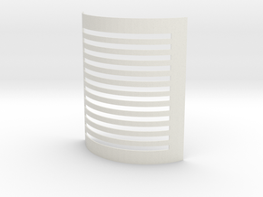 Pepper Grater_Stainless Steel in White Natural Versatile Plastic