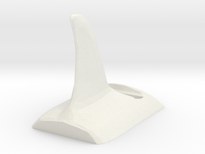 Orca -themed stand for Droid phone in White Natural Versatile Plastic