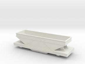 Hon30 hopper steel body in White Natural Versatile Plastic