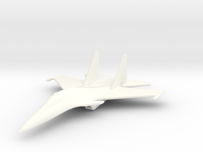 1/285 (6mm) SU-30  in White Strong & Flexible Polished