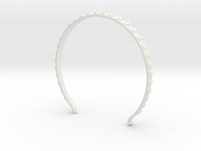 Head arc 4 in White Natural Versatile Plastic