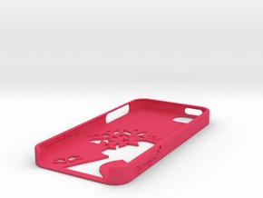 Flowergirl iPhone Case in Pink Processed Versatile Plastic