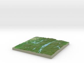 Terrafab generated model Sun Dec 01 2013 17:38:41  in Full Color Sandstone