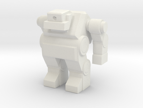 Robot 0033 Cyclops Bot v1 in White Natural Versatile Plastic