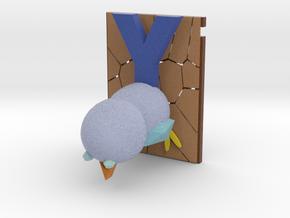 The Blue Bird in Full Color Sandstone