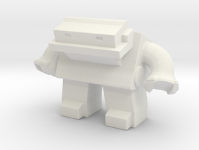 Robot 0036 Jaw Bot v1 in White Strong & Flexible