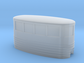 Small Passenger Trolley - Z Scale in Smooth Fine Detail Plastic