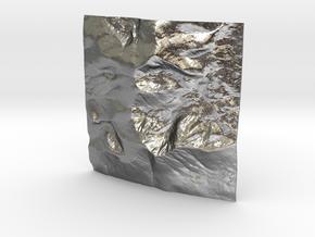 3'' Mt. Katahdin, Maine, USA, WSF in Natural Silver