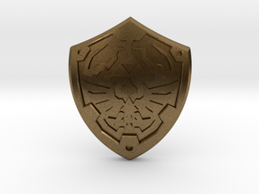 Royal Shield II in Natural Bronze