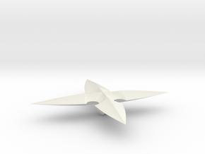Roxas' Pendant in White Natural Versatile Plastic
